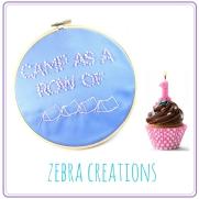 birthday cake embroidery